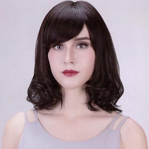 成都女士中长发发型图片